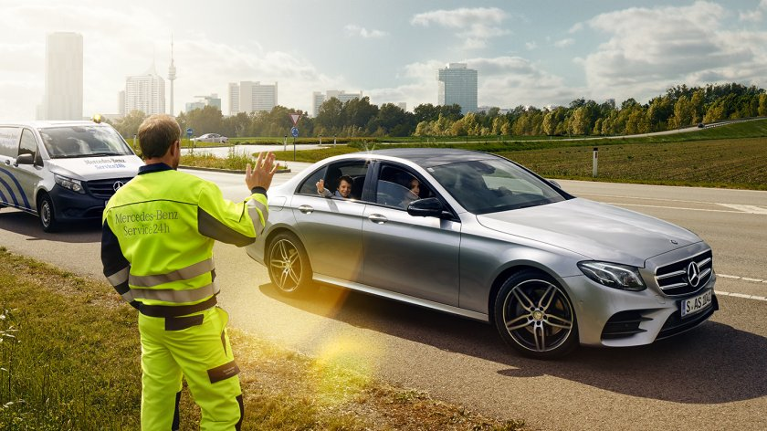 Services for Mercedes-Benz vehicles