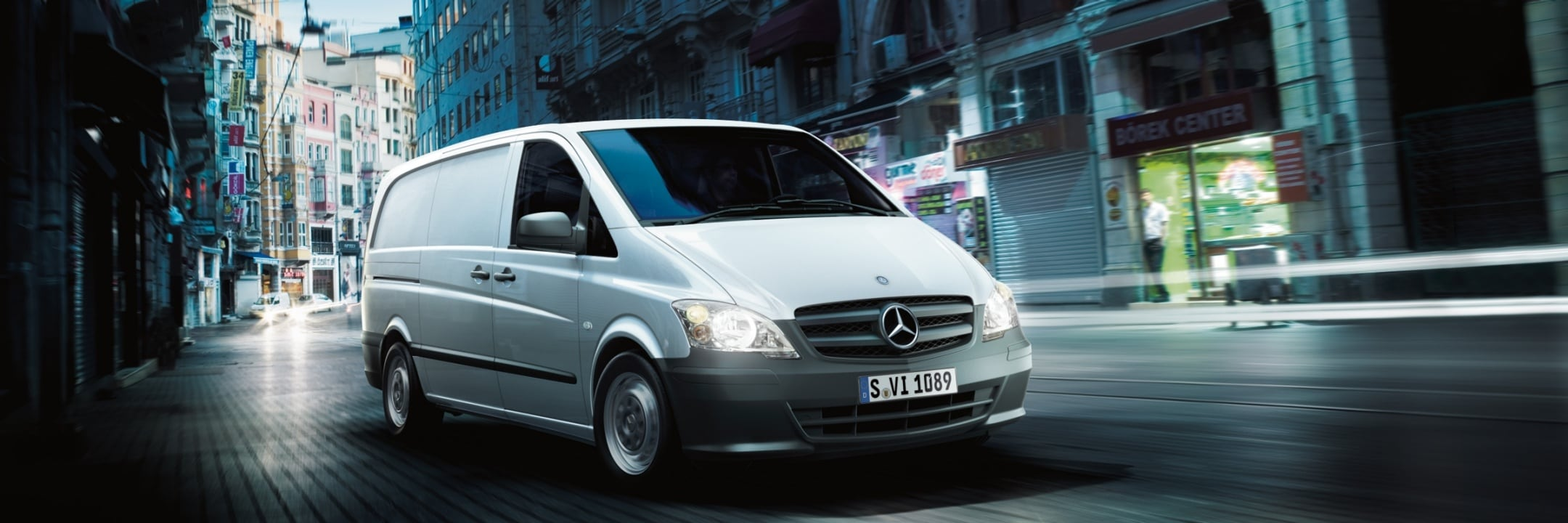 Promotions and offers for your Mercedes-Benz van