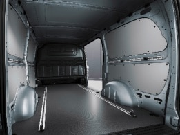 Vito panel van, full-width partition